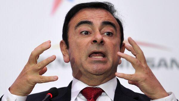 Президент, генеральный директор Альянса Renault-Nissan Карлос Гон