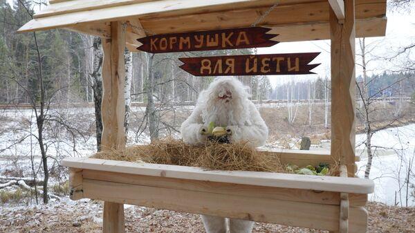 Кормушка для йети в Нязепетровском районе Челябинской области