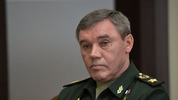 Начальник Генерального штаба Вооруженных сил РФ генерал Валерий Герасимов