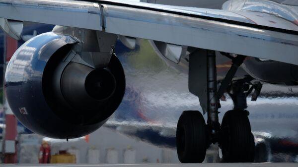 Самолет в аэропорту Шереметьево. Архивное фото