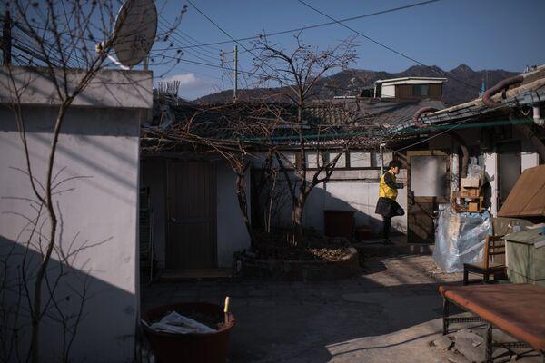 Бедный дом в Южной Корее