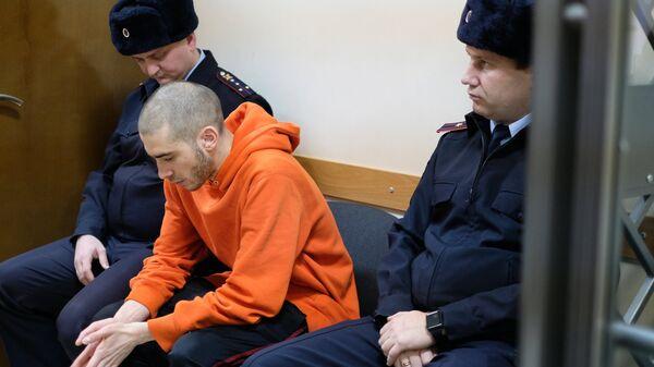 Рэп-исполнитель Хаски во время рассмотрения административного дела в Первомайском районном суде Краснодара. 22 ноября 2018