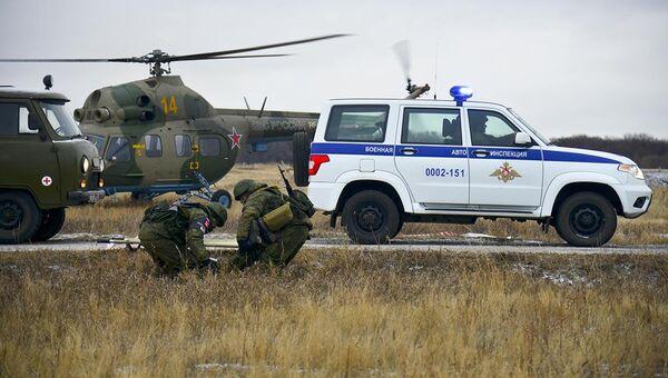 Военная полиция ВС РФ. Архивное фото
