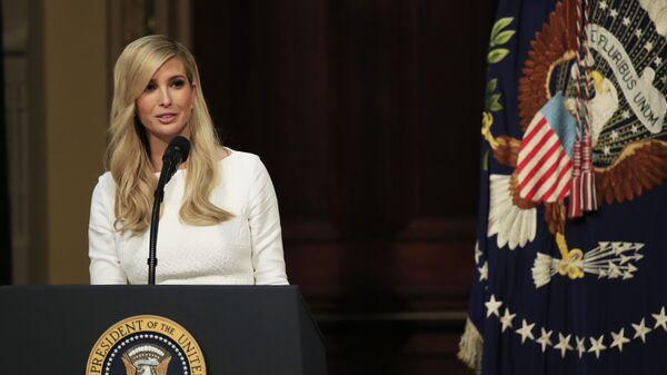 Советник президента США, дочь Дональда Трампа Иванка Трамп