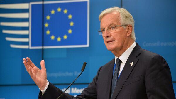 Глава делегации ЕС на переговорах по Brexit Мишель Барнье