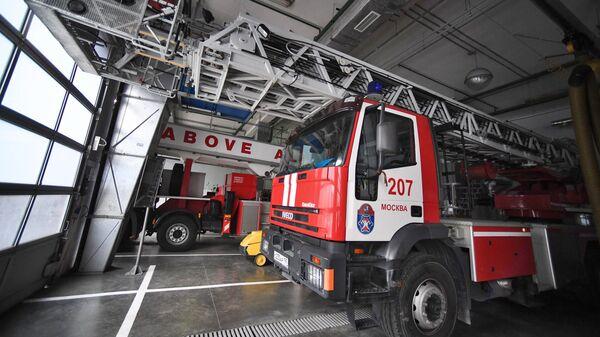 Пожарное оборудование в  деловом центре Москва-Сити