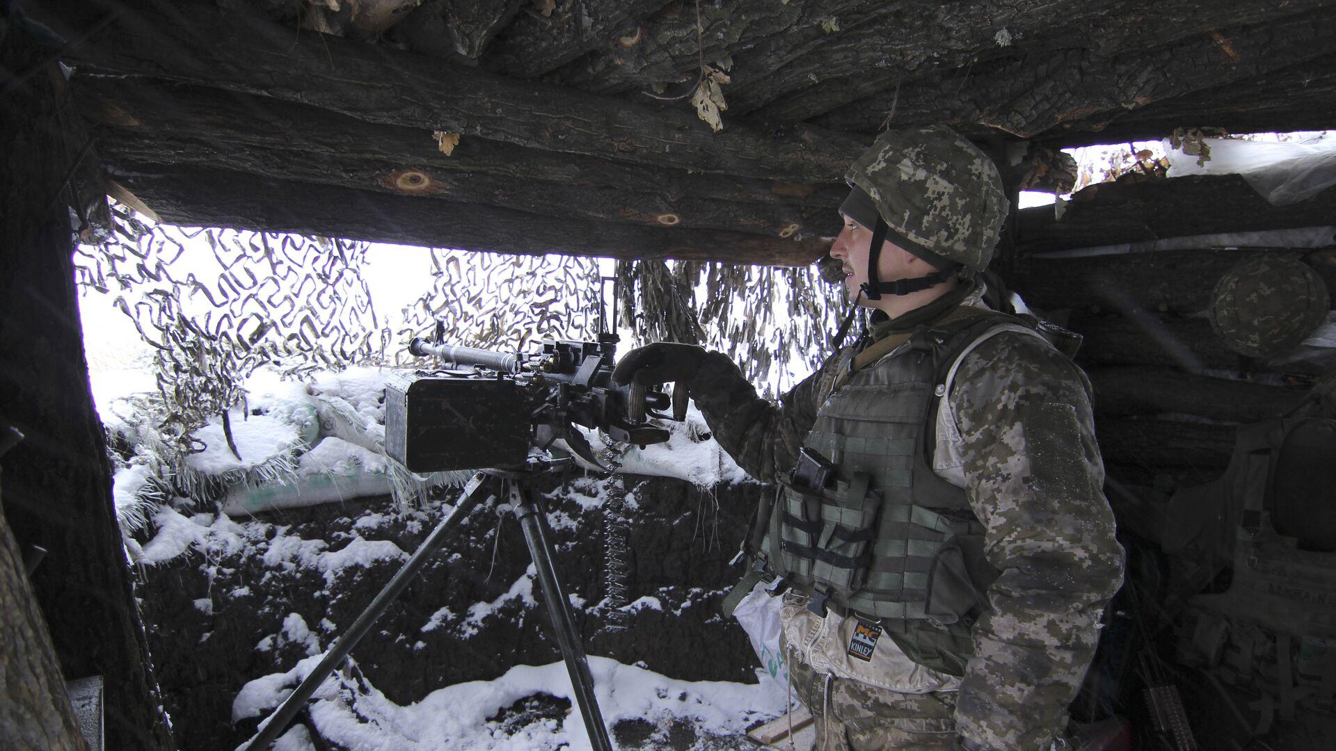 ВСУ впервые с конца июля нанесли артиллерийский удар по ЛНР