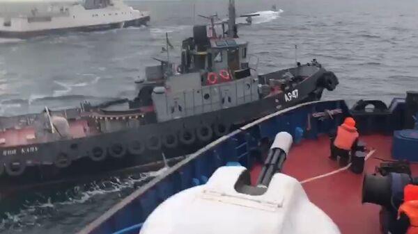 Дави его. Как российский сторожевик остановил судно-нарушитель ВМС Украины