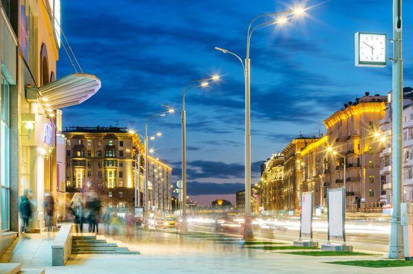 Все наружное освещение Москвы под контролем одной диспетчерской