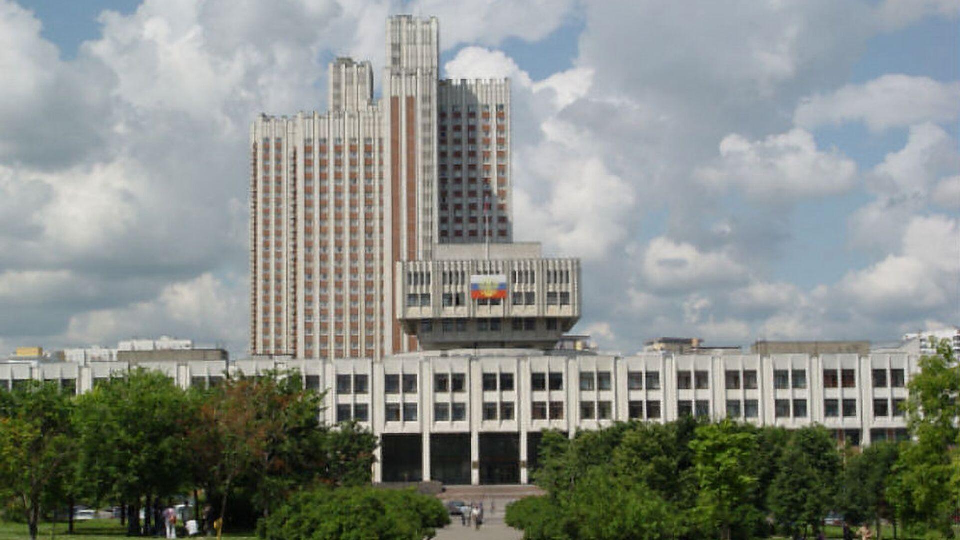 Здание РАНХиГС - РИА Новости, 1920, 25.09.2020