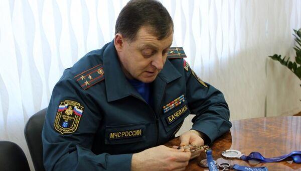 Начальник ГУ МЧС России по Саратовской области Игорь Качев. Архивное фото