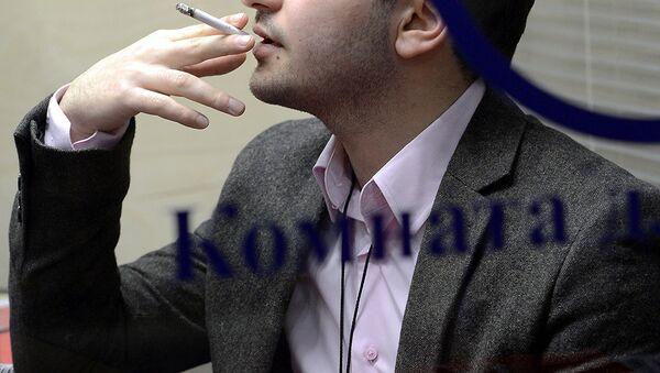 Курительная комната. Архивное фото