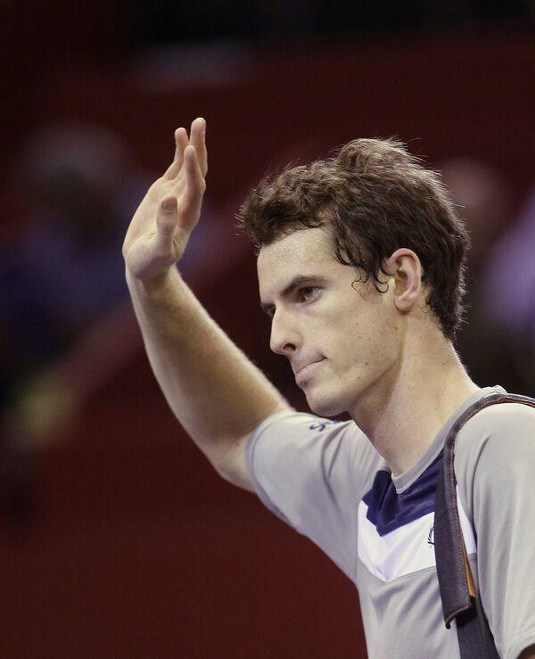 Британский теннисист Энди Мюррей