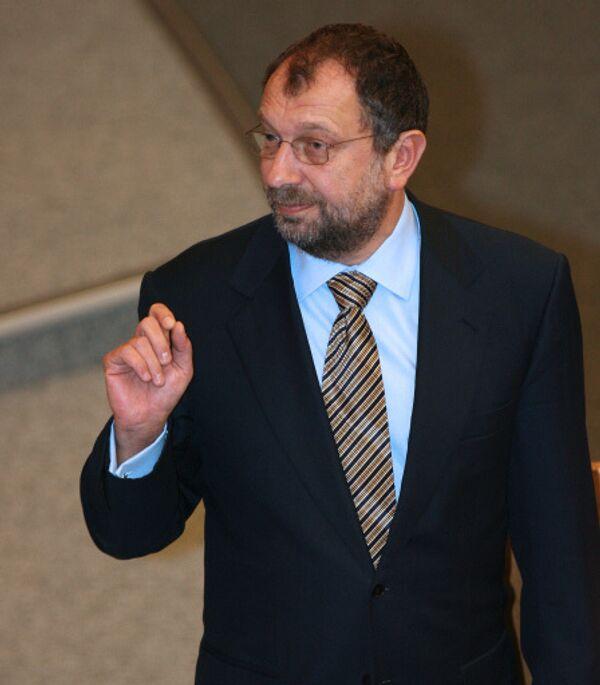 Председатель думского комитета по кредитным организациям и финансовым рынкам Владислав Резник