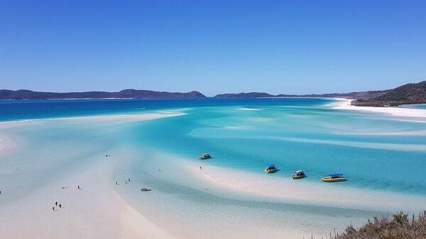 Пляж Уайтхевен. Австралия