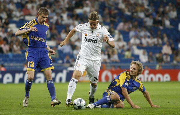 Матч Лиги чемпионов Реал - БАТЭ