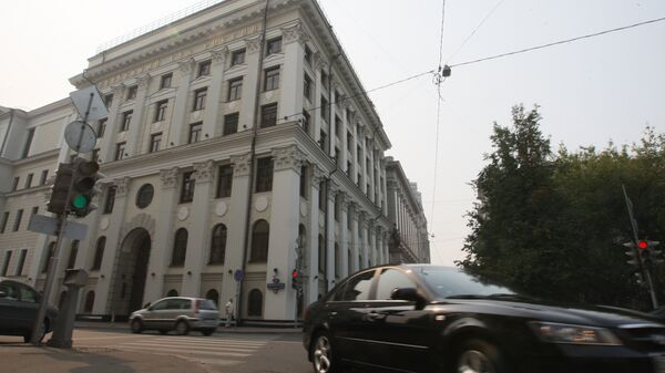 Здание Верховного суда РФ