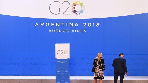 Перед началом саммита G20 в Буэнос-Айресе
