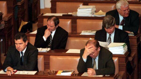 Чешский парламент