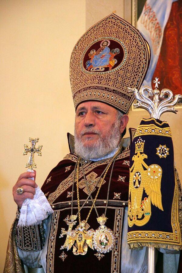 Католикос Гарегин II. Архив