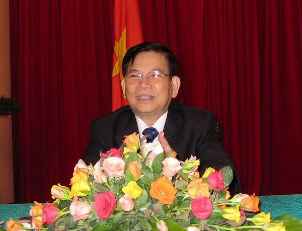 Президент Вьетнама Нгуен Минь Чиет