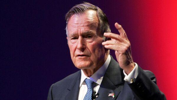 Бывший президент США Джордж Герберт Уокер Буш. Архивное фото
