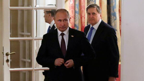 Президент РФ Владимир Путин на полях саммита Группы двадцати G20 в Буэнос-Айресе