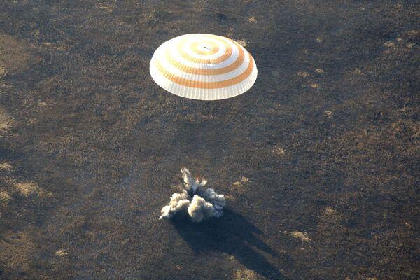 Возвращение на Землю 17-ой основной экспедиции МКС и шестого космического туриста из США Ричарда Гэриотта