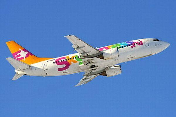 самолет Боинг-737 авиакомпании Скай Экспресс