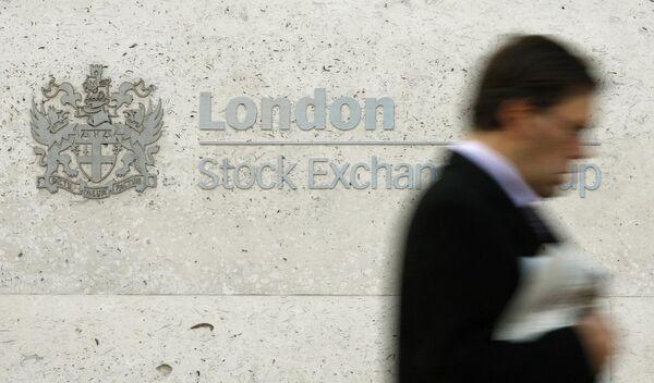 Лондонская фондовая биржа в Сити