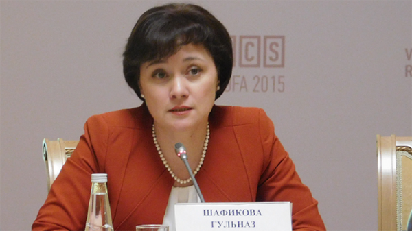 Гульназ Шафикова. Архивное фото