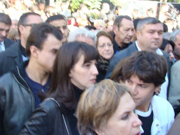Прощание с Муслимом Магомаевым в Азербайджане