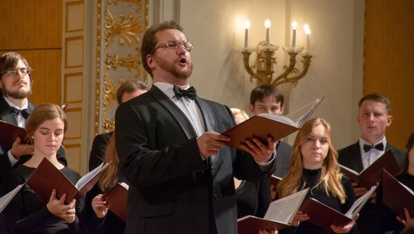 Концерт Московского синодального хора в Вене. 3 декабря 2018