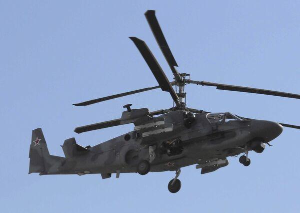 Авиационный завод Прогресс приступил к серийному производству боевого вертолета нового поколения КА-52 Аллигатор