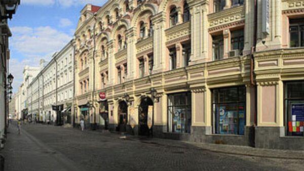 Столешников переулок в Москве