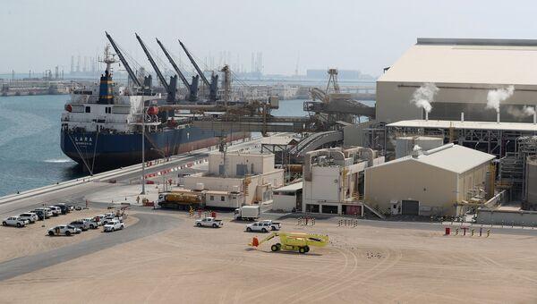 Центр по производству сжиженного природного газа Рас-Лаффан в Катаре. Архивное фото
