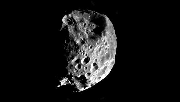 Феба, спутник Сатурна с внесолнечной водой