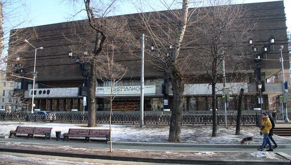 Здание Московского Художественного академического театра имени М. Горького. Архивное фото