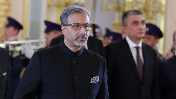 Чрезвычайный и полномочный посол Республики Индии Датла Бала Венкатеш Варма. Архивное фото