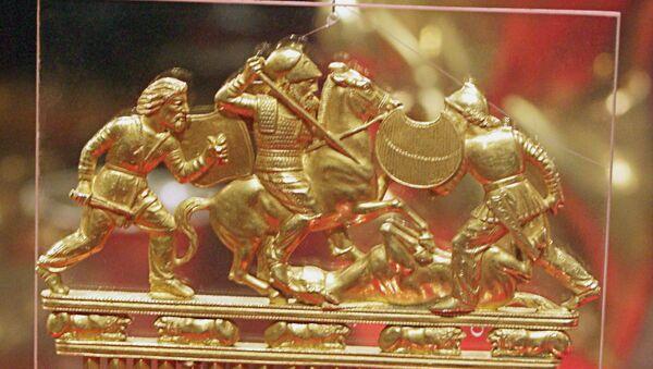 Золотой гребень скифов. Архив