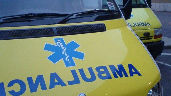 Автомобили скорой медицинской помощи. Лондон, Великобритания. Архивное фото