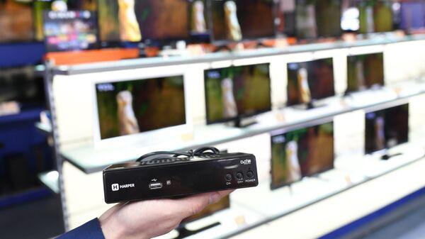 Приставка Harper для приема цифрового телевизионного сигнала