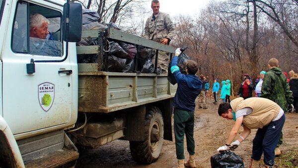 В заповеднике Земля леопарда подвели итоги Года добровольца