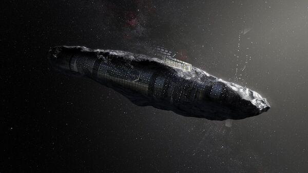 Ученые предположили искусственное происхождение астероида Оумуамуа