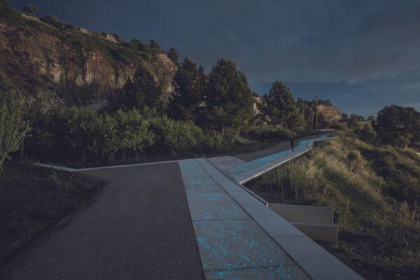 Проект пешеходных дорожек у гипсовых рудников в Испании, победивший в категории Landscape of the Year 2018 на Всемирном фестивале архитектуры