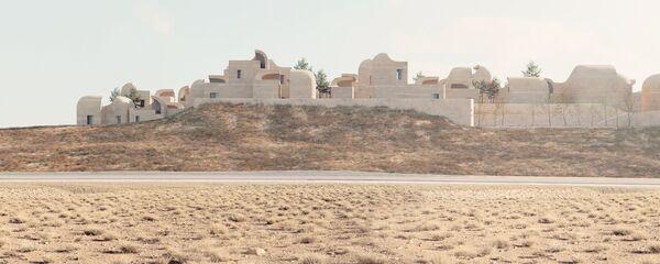 Проект здания Sadra Civic Center в Иране, победивший в категории Competition Entries Future Project на Всемирном фестивале архитектуры