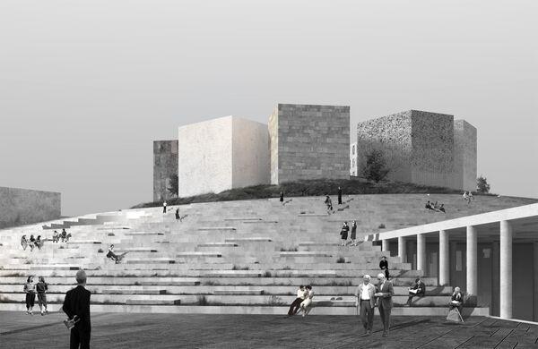 Проект здания Музея блокады Ленинграда в Санкт-Петербурге, победивший в категории Culture Future Project на Всемирном фестивале архитектуры