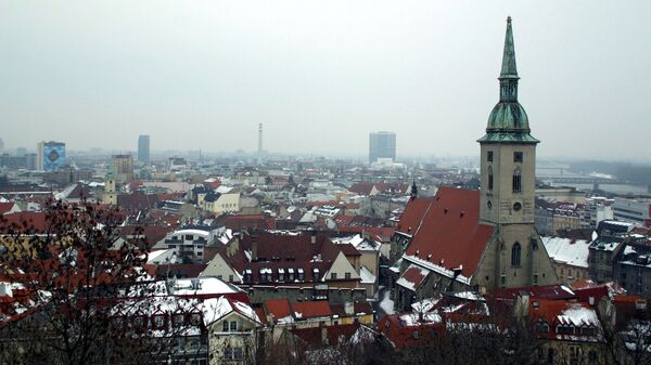 Вид на Братиславу. Архивное фото
