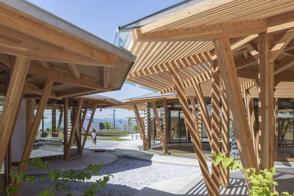 Проект детского сада Muku в Японии, победивший в категории School Completed Buildings на Всемирном фестивале архитектуры