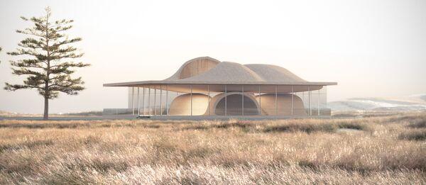 Проект дома Guyim Vault House в Иране, победивший в категории House Future на Всемирном фестивале архитектуры
